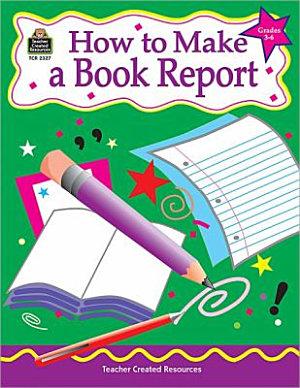 How to Make a Book Report PDF