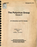 Download A Monograph on the Potyvirus Group Book