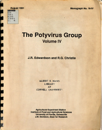 A Monograph on the Potyvirus Group PDF