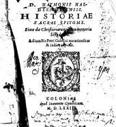 D. Haymonis Halberstattensis historiae sacrae epitome sive de Christianarum rerum memoria libri decem