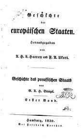 Geschichte des preussischen Staats: th. Vom jahre 1191 bis 1640. 1830