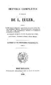 OEuvres complètes en français: Volume1