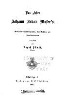 Das Leben Johann Jacob Moser s PDF