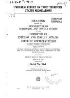 Progress Report on Trust Territory Status Negotiations PDF