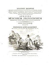 Species muscorum Frondosorum descriptae et tabulis aeneis LXXVII coloratis ilustratae: opus posthumum, Volume 1