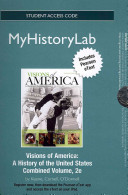 Visions of America MyHistoryLab Access Card