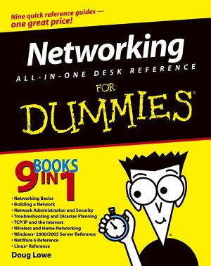 Networking All in One Desk Reference For Dummies PDF