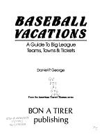 Baseball Vacations PDF
