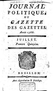 Journal politique ou gazette des gazettes: Volume28