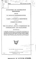 Inventory of Information Resources for the U S  House of Representatives PDF