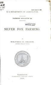 Silver fox farming