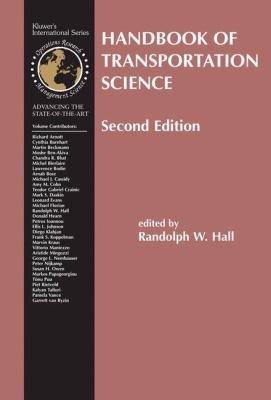 Handbook of Transportation Science