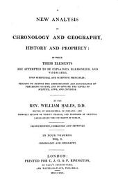 Chronology and geography