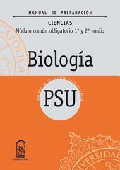 Manual Preparación Biología 1º y 2º Medio: Módulo común obligatorio