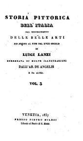Storia pittorica dell'Italia dal risorgimento delle belle arti fin presso al fine del XVIII. secolo: Volume 3