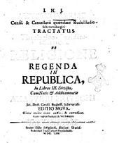 I.N.J. Antonii Fabri, ... Tractatus theologico-juridico-politicus, de religione regenda in republica, in libros 3. divisus, cum notis & additamentis Ahasveri Fritschi ..