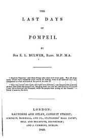 The Last Days of Pompeii: Volume 2