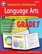 Interactive Notebook: Language Arts Workbook, Grade 7