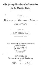 The young churchman's companion to the Prayer book