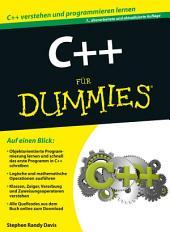 C++ für Dummies: Ausgabe 7