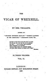 The Vicar of Wrexhill: Volume 2