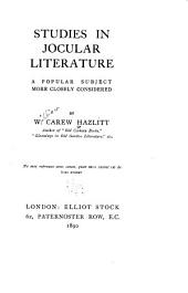 Studies in Jocular Literature: A Popular Subject More Closely Considered