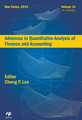Advances in Quantitative Analysis of Finance and Accounting  New Series  Vol   14
