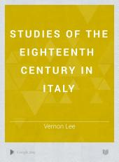 Studies of the Eighteenth Century in Italy