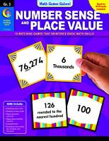 Math Games Galore  Number Sense and Place Value  Gr  3 PDF
