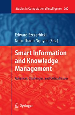 Smart Information and Knowledge Management PDF