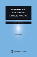 International Arbitration  Law and Practice PDF
