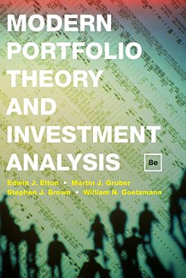 Modern Portfolio Theory and Investment Analysis PDF