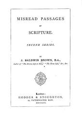 Misread Passages of Scripture: Volume 1