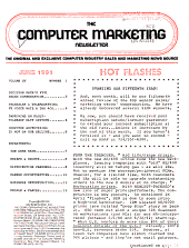 The Computer Marketing Newsletter