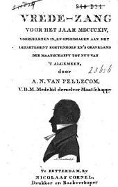 Vrede-zang voor het jaar 1814 ...