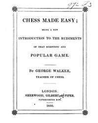 Chess Made Easy Book PDF