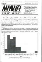 Morbidity and Mortality Weekly Report: MMWR, Volume 49, Issue 11