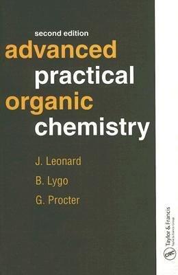 Advanced Practical Organic Chemistry  Second Edition PDF