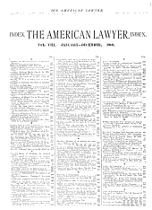 The American Lawyer: Volume 8