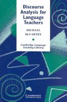 Discourse Analysis for Language Teachers PDF