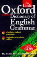 The Little Oxford Dictionary of English Grammar PDF