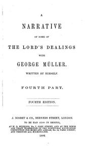 A Narrative of Some of the Lord's Dealings with George Müller: first-third part, Volume 2