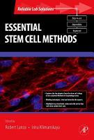Essential Stem Cell Methods PDF