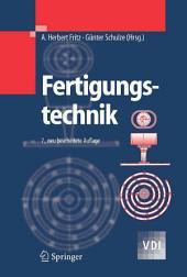 Fertigungstechnik: Ausgabe 7