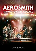Aerosmith   Uncensored on the Record PDF