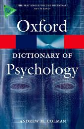 A Dictionary of Psychology: Edition 3