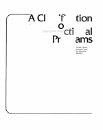 A Classification of Instructional Programs PDF