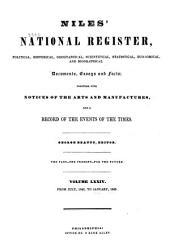 Niles' Weekly Register: Volume 74