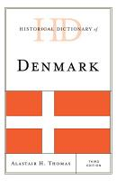 Historical Dictionary of Denmark PDF