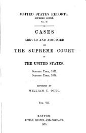 United States Reports: Cases Adjudged in the Supreme Court, Volume 97
